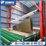La Chine du grain du bois en usine le transfert net de vitre coulissante de l'écran