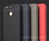 Lychee Huaweiの名誉V9のための革パターンTPUケース