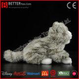 Förderung-Geschenk-realistische Plüsch-angefülltes Tier-graue Katze-weiches Spielzeug