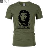Amerikanisches Größen-Baumwoll-Polyester-Mischungtc-T-Shirt für das Bekanntmachen mit preiswertem Preis