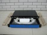 """quadro d'interconnessione ottico duplex montato cremagliera della casella terminale della fibra dello Sc 1u 19 """" 24ports"""