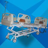 Bae502IC 싼 의학 헬스케어 간호 금속 물자 ICU 전기 조정가능한 침대