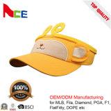 Coutume vos propres chapeaux de pare-soleil du Roi Sun de singe de coton de logo pour des enfants