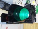 Sinal de piscamento do diodo emissor de luz do vermelho & a ambarina & a verde da esfera cheia