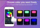 5W RGBW colorido Lâmpada LED WiFi inteligente controle remoto por Telemóvel APP
