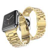 アダプターが付いているAppleの時計バンドのためのHocoのステンレス鋼の金属の時計バンド
