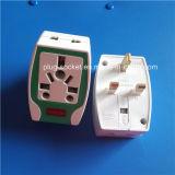 Штепсельная вилка бакелита высокого качества изготовления материальная UK (RJ-1354)