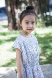Платья 100% праздника девушок малышей хлопка на лето