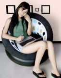 単一のソファーを群がらせる携帯用PVC