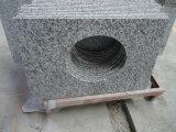 De grandes dalles de granit blanc fleur&tuiles Flooringt granit&Walling