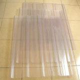 Hoja acanalada del policarbonato sólido de la GE Lexan del 100% por 10 años