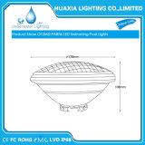 Imperméable IP68 35W 12V Multi Color PAR56 LED lampe de feu sous-marine Piscine