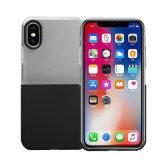 Cubierta líquida del silicón de la caja del teléfono de la venta al por mayor de la caja del teléfono móvil para el iPhone X