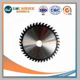Hojas de sierra de corte CNC de carburo para piezas de maquinaria