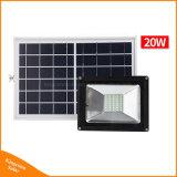 Control remoto de PCS de 40 LED solar al aire libre jardín de la calle Faroles de luz