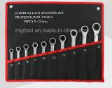 10pcs estable de profesionales de la llave de marcha en la bolsa de rodadura (FY1810R)