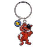 New Fashion Zinc Animal Alloy Blank Keychain for Promotion