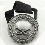Médaille d'or courante personnalisée de concurrence de contact de sports
