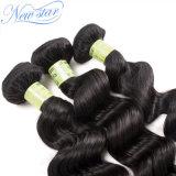 Пачки утка человеческих волос девственницы волны самого лучшего качества перуанские свободные