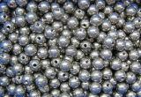 6.35mm 1/4 di sfera molle asciutta dell'acciaio a basso tenore di carbonio AISI1010, rivestono di ferro la sfera d'acciaio per i cuscinetti, bicicletta parte G1000 G2000