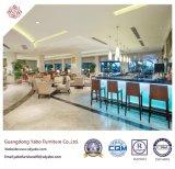 Empfindliche Gaststätte-Möbel mit Upholsteryd Gewebe-Sofa-Stuhl (YB-S-21)