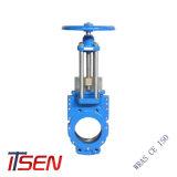 Cialda di DIN/ANSI/JIS/tipo standard valvola a saracinesca dell'aletta/flangia della lama per Pn10/16 Class125