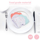 Five Colors Food Grade Silicone Teething Mitten Teether Gloves