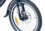"""Bicyclette électrique pliable/Ebike de ville d'étape inférieure 20 """" avec la batterie au lithium"""