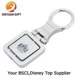Níquel directo Keychain en blanco redondo de la venta de la fábrica