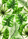 Masse grünes der Vegetation-Ölgemälde-handgemachten Hauptdekoration