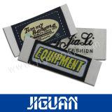 Katoenen van het Kledingstuk van de douane Polyester Geweven Etiketten