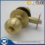 Fechamento de porta cilíndrico de bronze do fechamento de porta do botão da esfera da boa qualidade