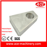 CNC maschinelle Bearbeitung des Stahlpole-Teils