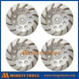O diamante utiliza ferramentas a roda de moedura abrasiva do segmento da seta para o concreto de lustro