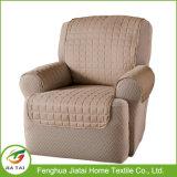 Della mobilia del tessuto coperchio impermeabile unico del sofà della pianura il più bene