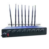 8CH jammer móvel ajustável do sinal da potência da potência média 10W/Band