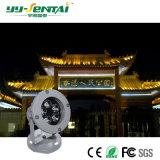 Proyector impermeable al aire libre del alto brillo LED