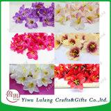 Simulación de nuevo Cartland Thai Orchid Seda artificial Flores jefe
