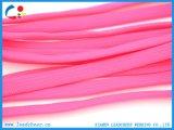 На заводе оптовой розового цвета полиэстер шнур питания для Shoelace