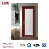 Portello della stanza da bagno personalizzato alta qualità di vetro glassato