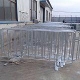 Barriera galvanizzata 1.1*2.5m resistente di sicurezza stradale con i piedi saldati