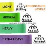 Resistência de Loop Conjunto de 4 Exercício de bandas de tonificação Fitness Fisio