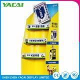 Suporte de exposições dobrada de rack para exibição de Produtos as lojas especializadas