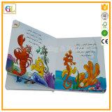Alta impresión del libro de la tarjeta de los niños de Qaulity (OEM-GL008)
