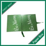 Cadre cosmétique de vente de carton chaud de vert avec la bande