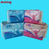 280mm ultra fina película perfurada confortável respirável Senhoras absorventes higiênicos