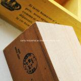 Bandeja de madera de la porción del abeto antiguo al por mayor barato del OEM