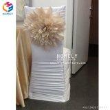 結婚披露宴の宴会の食堂のスパンデックスの椅子カバーHly-CV70