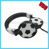 Écouteur stéréo de dans-Oreille créatrice avec le modèle du football (VB-2002D)