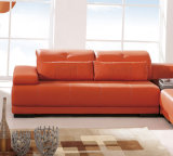 Sofà domestico 6025b# dell'angolo del salone della mobilia